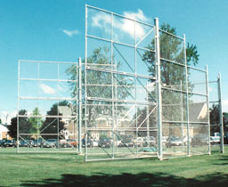 Shot put and Discus Throw Cage
