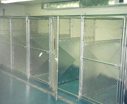Industrial Chain Link Interior Enclosures