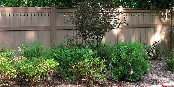 Good Neighbor Cedar Privacy Fencing with by Elyria Fence