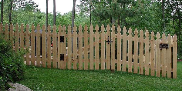Picket Fence Designs by Elyria Fence Company