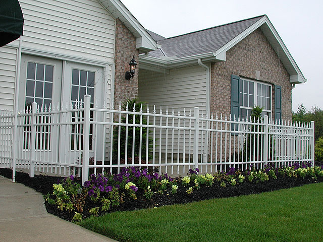 Ornamental Aluminum Fence By Elyria Fence