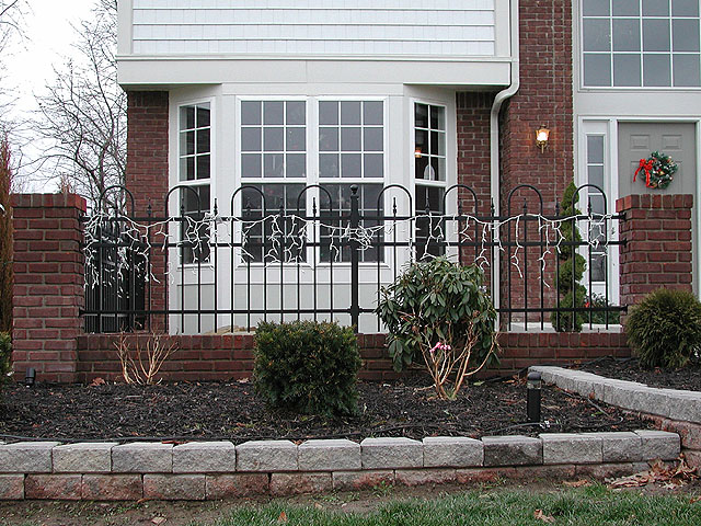 Ornamental Aluminum Concord Fence by Elyria Fence