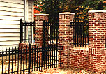 Wrought Iron Fence by Elyria Fence