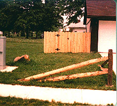 Two Rail Tapered Rail Split Rail Fence by Elyria Fence