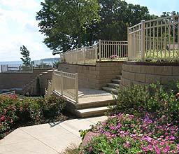 Aluminum Railing by Elyria Fence, a Cleveland Railing Company since 1932