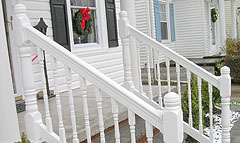 Vinyl Railing By Elyria Fence
